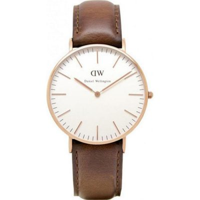 DANIEL WELLINGTON Classic St.Mawes Brown Leather Strap Ladies Watch -Cod.: 0507DW