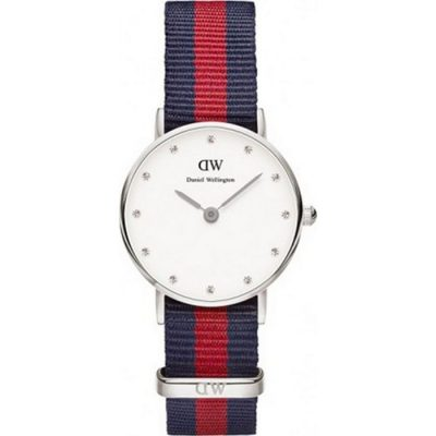 DANIEL WELLINGTON Classy Oxford Multicolor Nato Strap Ladies Watch -Cod.: 0925DW