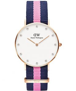 DANIEL WELLINGTON Classy Winchester Rose Gold Plated case
