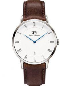 DANIEL WELLINGTON Dapper Bristol Brown Leather Strap Gents Watch- Cod.: 1123DW