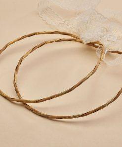 Στέφανα γάμου ΑRTE e ARGENTO 1151