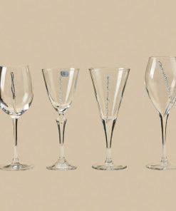 Είδη Γάμου-Ποτήρια Κρασιού ΑRTE e ARGENTO Π1
