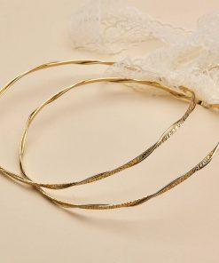 Στέφανα γάμου ΑRTE e ARGENTO 1166