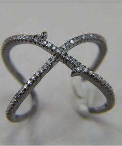 Δαχτυλίδι ασημένιο 925*  με Ζιργκόν