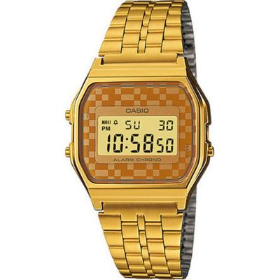 Casio Collection Gold-Tone Stainless Steel Bracelet   Watch- Cod.: A-159WGEA-9AEF