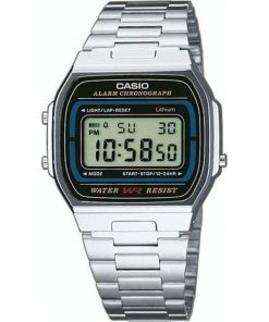 Casio Collection Casual Stainless Steel Bracelet Gents Watch- Cod.: A164WA-1VES