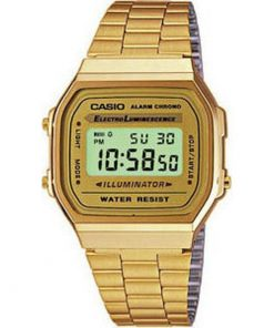 Casio Collection Retro A168WG-9W