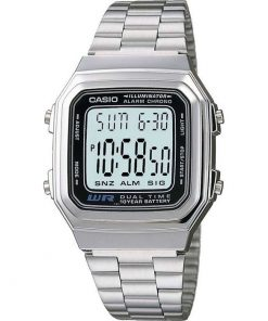 CASIO Collection Stainless Steel Bracelet - A178WEA-1A