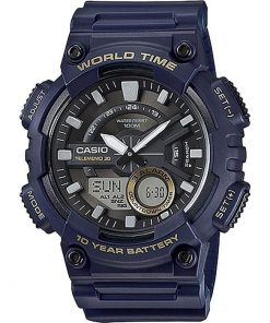 CASIO Collection Blue case