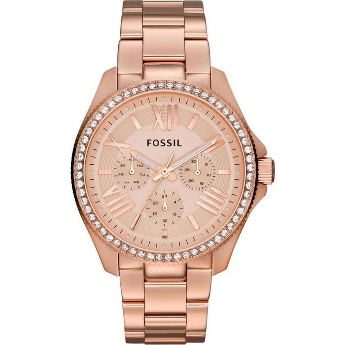 Fossil Cecile Multifunction Stainless Steel Watch - Rose AM4483
