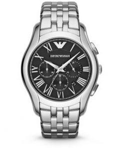 Emporio Armani Classic Chrono Stainless Steel Bracelet Gents Watch- Cod.: AR1786