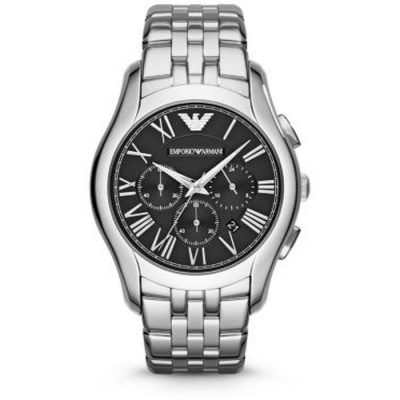 Emporio Armani Classic Chrono Stainless Steel Bracelet Gents Watch- Cod.: AR1786