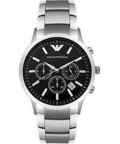 Emporio Armani Chronograph Stainless Steel Bracelet Gents Watch- Cod.: AR2434