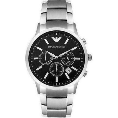 Emporio Armani Chronograph Stainless Steel Bracelet Gents Watch- Cod.: AR2434