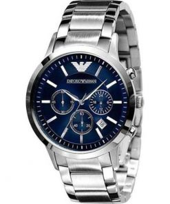Emporio Armani Chronograph Stainless Steel Bracelet Gents Watch- Cod.: AR2448