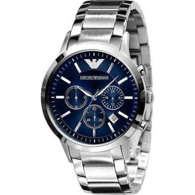Emporio Armani Chronograph Stainless Steel Bracelet Gents Watch- Cod.: AR2448
