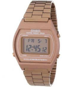 Casio Retro Stainless Steel Bracelet Ladies Watch-Cod: B640WC-5AEF