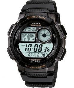 CASIO Sport Black Rubber AE-1000W-1AVEF