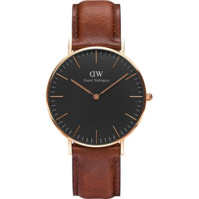 Daniel Wellington Ladies Classic Black St Mawes
