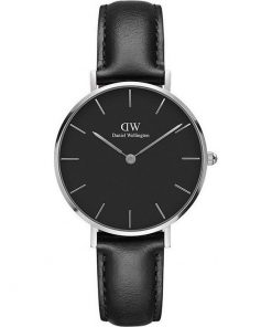 Daniel Wellington Classic Petite Sheffiled Black Leather Strap DW00100180