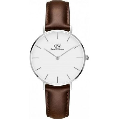 Daniel Wellington Classic Petite Bristol Brown Leather Strap DW00100183