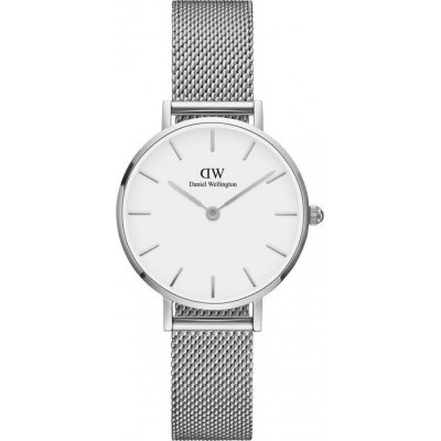 Daniel Wellington Classic Ladies Watch Petite Sterling 28mm DW00100220 6c4eb82f3ba