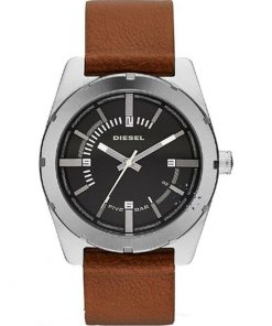 Diesel Good Company Brown Leather Strap DZ1631