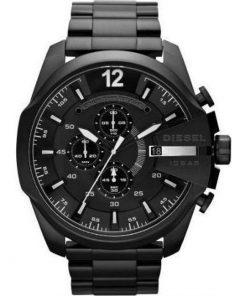 DIESEL Mega Chief Black Stainless Steel Bracelet Gents Watch-  Cod: DZ4283