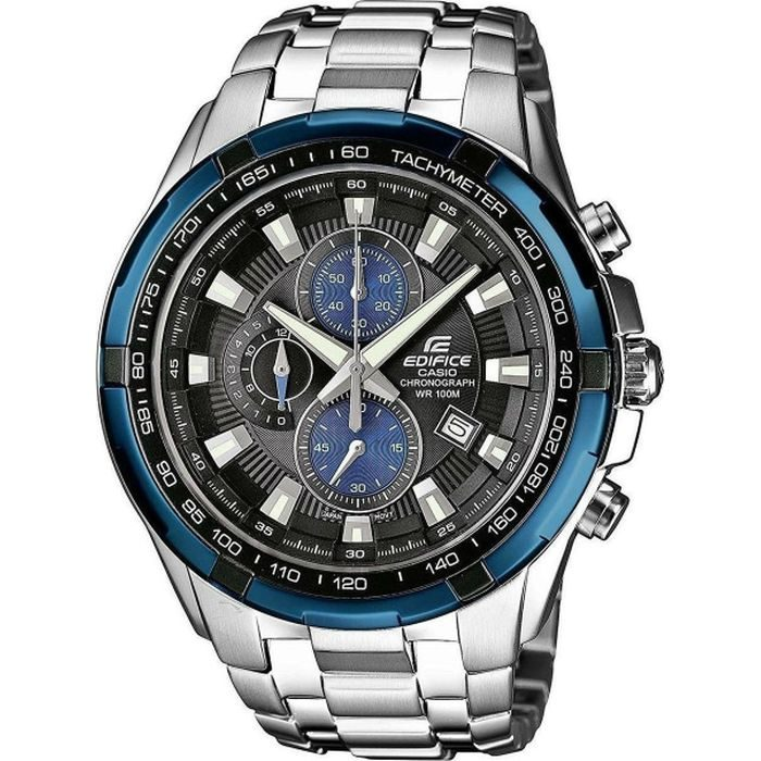Casio Edifice Chronograph Silver case with Stainless Steel Bracelet  EF-539D-1A2VEF 5552e66cee4