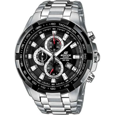 Casio Edifice Chronograph Stainless Steel Bracelet Gents Watch- Cod.: EF-539D-1AVEF