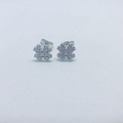 Λευκόχρυσα σκουλαρίκια 14 καράτια 1