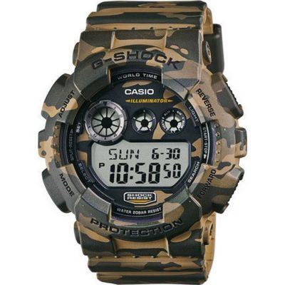 Casio Mens G-shock Full Camouflage Watch GD-120CM-5ER