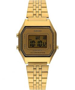 Casio Collection Gold Stainless Steel Bracelet LA680WEGA-9ER