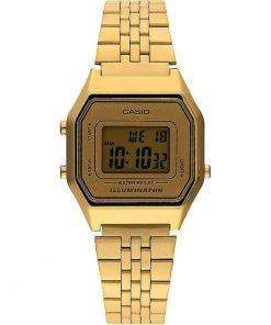 Casio Collection Gold Stainless Steel Bracelet LA680WEGA-9ER