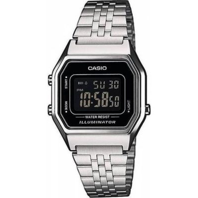 Casio Collection Stainless Steel Bracelet LA-680WEA-1BEF 800624e4868