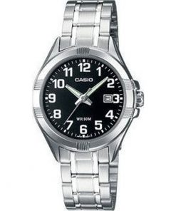Casio Collection Stainless Steel Bracelet Ladies LTP-1308PD-1B