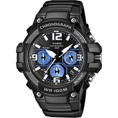 Casio  Men's Analog Watch Chronograph MCW-100H-1A2VEF