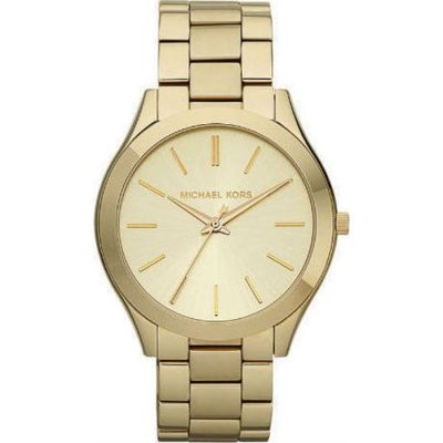MICHAEL KORS Runway Gold Stainless Steel Bracelet Ladies Watch- Cod.:  MK3179