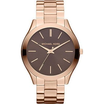 MICHAEL KORS Slim Runway Rose Gold-Tone Ladies Watch- Cod.: MK3181