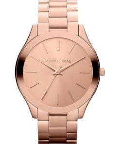 Michael Kors Slim Runway Rose Gold Bracelet Ladies Watch- Cod.:  MK3197