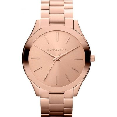 Michael Kors Slim Runway Rose Gold Bracelet Ladies Watch- Cod.:  MK3197