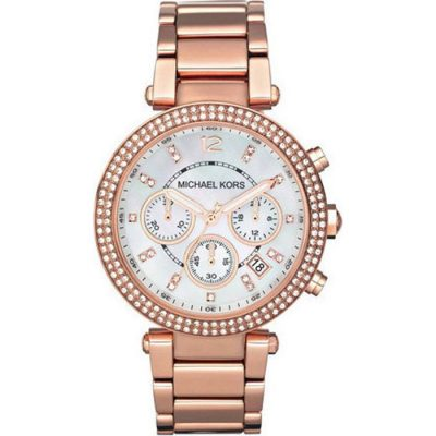 Michael Kors Parker Chrono Ladies Watch- Cod.: MK5491