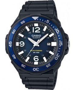Casio Collection Men's Watch Solar Powerd Black Rubber Strap MRW-S310H-2BVEF