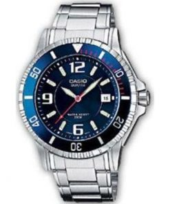 Casio Collection Casual Stainless Steel Bracelet Gents MTD-1053D-2AVEF