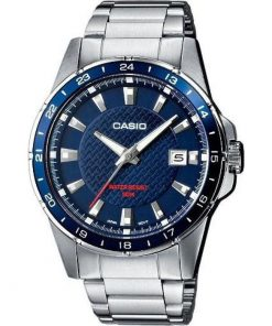 Casio Collection Casual Stainless Steel Bracelet Gents Watch- Cod.: MTP-1290D-2AVEF