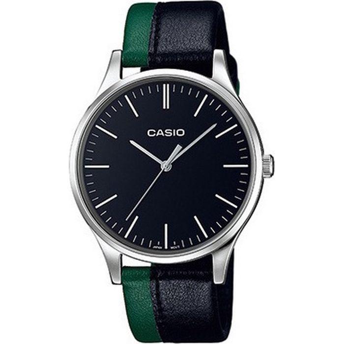 ρολόι-watch-casio-classic-man-gent-silver-stainless-steel-leather ... e6f9737515a