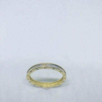 Χρυσό δαχτυλίδι 14 καράτια