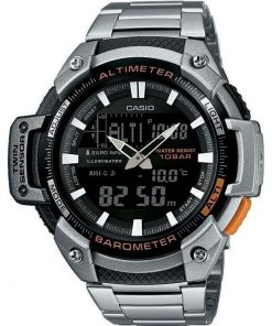 Casio Collection Standard Chrono Stainless Steel Bracelet Gents Watch- Cod.: SGW-450HD-1BER