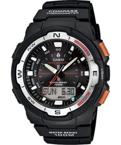 Casio Twin Sensor Compass Men's Watch: SGW-500H-1BVER