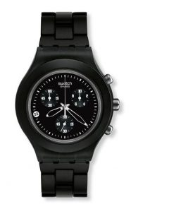 SWATCH Irony Full-Blooded Smoky Black Unisex Watch -Cod: SVCF4000AG